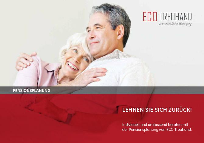 Broschüre Pensionsplanung